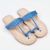 NEW Handmade leather sandals in indigo blue by Banjarans Leather Sandals