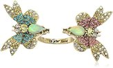 Betsey Johnson Pave Butterfly Ring, Size 7