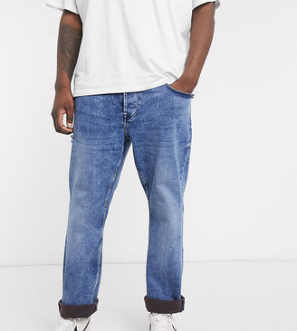 ONLY & SONS slim fit jeans in washed blue