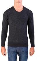 Valentino Men's Crew Neck Sweater Charcoal Grey.
