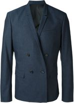 Juun.J textured double breasted blazer - men - Cotton/Polyester/Polyurethane - 46