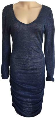 Charli Blue Cotton - elasthane Dresses
