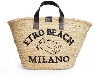 Etro Woven Beach Bag