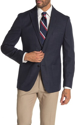 Tommy Hilfiger Blue Woven Two Button Performance Fit Suit Separate Sport Coat