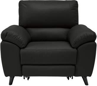 Argos Home Elliot Leather Mix Power Recliner Chair