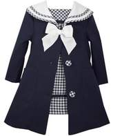 Iris & Ivy Little Girl's Two-Piece Dress and Coat Set