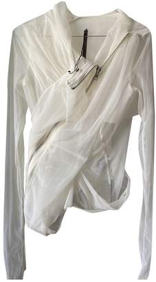 Rick Owens Lilies White Top for Women