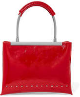 Alexander Wang Dime Small Patent Textured-leather Tote - one size