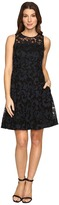Donna Morgan Sleeveless Fit and Flare with Full Skirt