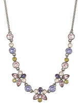 Givenchy Marquis & Round Crystal Frontal Necklace