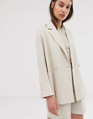 Weekday blazer in light beige