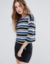 French Connection Suo Stripe Top