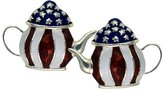 Stars & Stripes Products Teapot Earrings