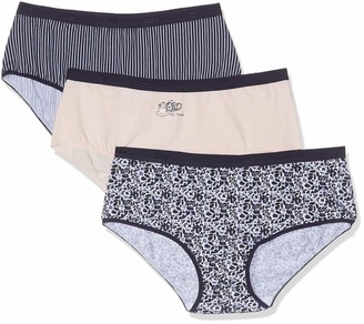 Dim Women's Boxer LES Pockets Coton X3 Boy Short
