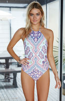 Billabong Luv Lost Halter One Piece Swimsuit