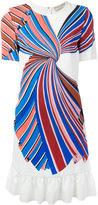 Emilio Pucci ruffle trim shift dress - women - Silk/Spandex/Elastane/Viscose - 40