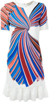 Emilio Pucci ruffle trim shift dress - women - Silk/Spandex/Elastane/Viscose - 44