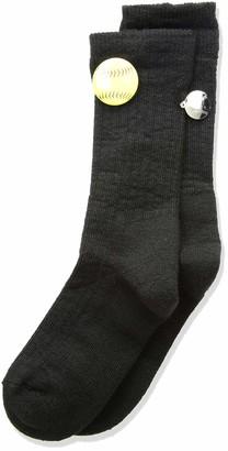 Thorlos Junior's Express Yourself Softball Crew Socks
