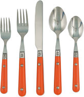 Gingko International LePrix 20 Pc. Persimmon Flatware Set
