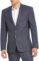 Murano Jasper Slim-Fit Textured Blazer