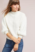 Knitted & Knotted Soft-Sleeved Sweater