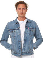 Levi's Levi`s The Trucker Mens Jacket Blue