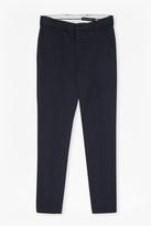 Dobby Cotton Chino Trousers