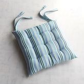 Pier 1 Imports Blue Striped Dining Cushion