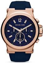 Michael Kors Dylan Silicone Watch, 48mm