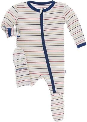 Kickee Pants Print Footie Pajamas - Infants'