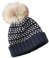 L.L. Bean Signature Chunky-Knit Hat, Bird's-Eye