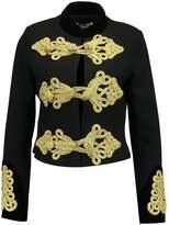 Glamorous Blazer black/gold