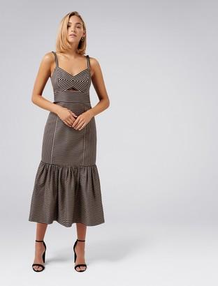 Ever New Rio Stripe Bodycon Dress