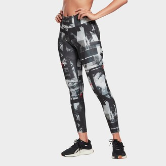 Reebok Women's Workout Ready MYT Printed Training Tights