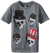 Diesel Big Boys' Tilki 4 Skull Face Tee