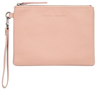 Status Anxiety SA1338 Fixation Zip Top Pouch