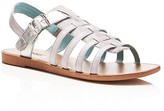 Toms Girls' Huarache Metallic Sandals - Toddler, Little Kid, Big Kid