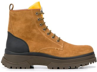 Moncler Ulysse lace-up boots