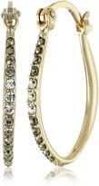 """Judith Jack Classics"""" -Tone Sterling Silver Hoop Earrings"""
