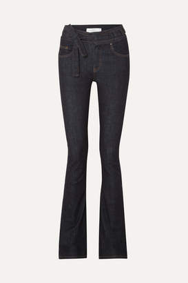 Victoria Victoria Beckham Victoria, Victoria Beckham - High-rise Flared Jeans - Mid denim