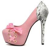 YINHAN Women's Platform Pumps Sexy Nightclub High Heels 38