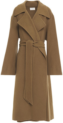 The Row Efo Cashmere And Wool-blend Felt Coat
