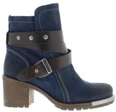 Fly London Womens Lok Ocean/Dk Brown Suede Boots EU