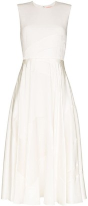 Roksanda Tonal Panelled Midi Dress