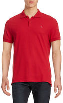 J. Lindeberg Slim-Fit Textured Golf Shirt