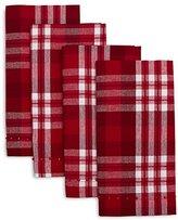 Sur La Table Check Napkins 6026417 CDL , Set of 4, Red