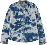 Scotch & Soda Tie Dye cotton crepe shirt - Blue