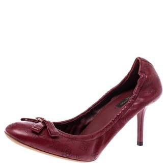 Louis Vuitton \N Red Leather Heels
