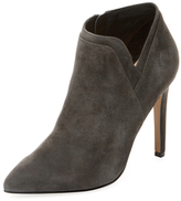 Ava & Aiden Pointed-Toe Suede Bootie