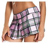 Be Wicked Pleated Schoolgirl Mini Skirt Clothing - Dress Size 8-12